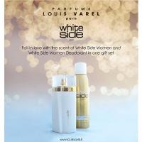 LOUIS VAREL SET WHITE SIDE WOMEN EDP 100 ML   DEO 200 ML