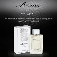 LOUIS VAREL ASRAR SILVER UNISEX EDP 100 ML