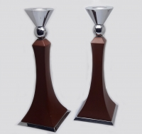 linkage candle holder x 2