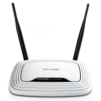 Router TBlink 300 Mbps Wireless - Black   White  TL-WR841N