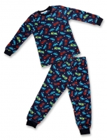 Pajama children winter from the age of 4 to 7 years