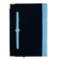 Notebook blue color