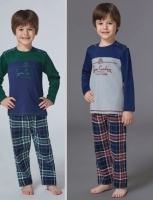 Pajama Boys from the age of 4 to 7 years