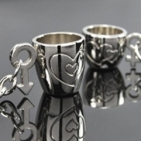 KeyChain - Cup Lovers