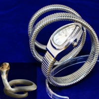 Sunex Snake watch for women