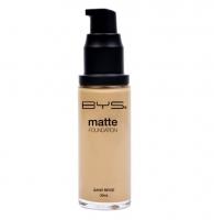 BYS Matte Liquid Foundation - Sand Beige