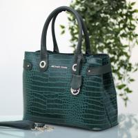 Turkish leather handbag MK brand