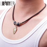 Men s Leather Necklace