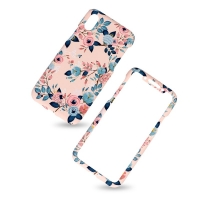 KUtis 2 in 1 Cover Iphone X plastic two pieces 360