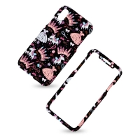 KUtis 2 in 1 Cover plastic two pieces 360 for Iphone X