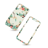 KUtis 2 in 1 Cover plastic Iphone X two pieces 360