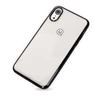 Cover Transparent plastic Rubber for Iphone XR