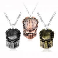 Men s Necklace - Metal Mask