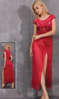 Long Lingerie Dress