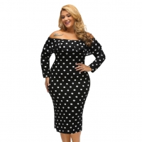 Plus Size Pencil Dress