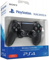 Sony New DUALSHOCK 4 Wireless Controller Black  PS4