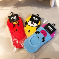 Comfortable Cotton Socks with BT21 Characters