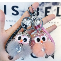 Cute owl key chain