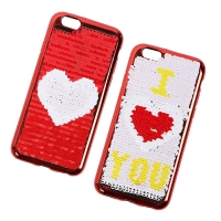 Cover Plastic with two different faces for iphone 6