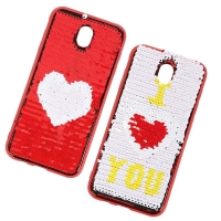 Cover Plastic with two different faces for Samsung J7 PRO