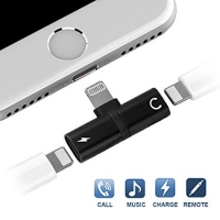 Adapter for iPhone for dual speaker and charging