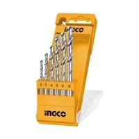 INGCO METAL HSS DRILL BITS SET   6PCS