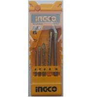 5PCS Glass drill bits