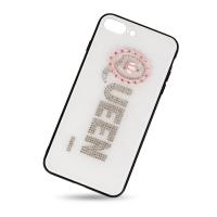 Plastic cover for iphone 7plus QUEEN