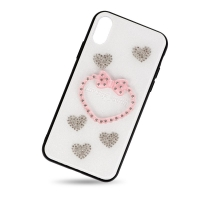 Plastic cover heart for Iphone X
