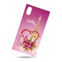 Plastic Cover Eiffel Tower for Iphone X