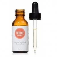 Teddie Organics Pure Moroccan Argan Oil for Hair Face Skin