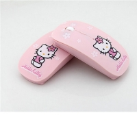 Wireless Mouse Pink Hello Kitty