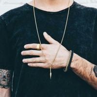 Stiletto Necklace for Men