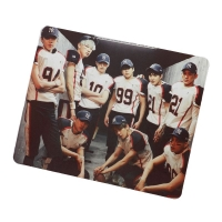 The mouse pad form a sports team
