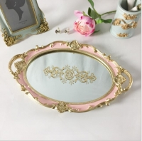Oval tray with