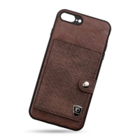 Leather cover with wallet for Iphone 7plus