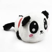 Panda shaped cotton doll