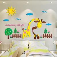 3D wall sticker 80* 55 cm
