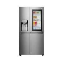 Refrigerator and Freezer Inside Door with Refrigerator Steel Intrater 4 Door Steel