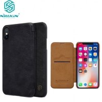 Leather Wallet  Iphone XS MAX Genuine Nillkin Qin