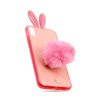 Cover Plastic Rabbit for Iphone XS MAX
