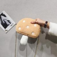 A mushroom shaped baby bag