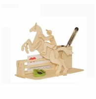 Toughened wooden horse