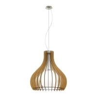 EGLO TINDORI Pendant Lamp HL/1 Maple-N  600