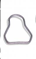 Iron belt for vibrator belt