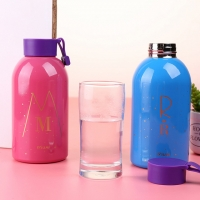 Water cooler - portable  with innovative practical design / 650 ml