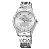 Skone Men Mechanical Stainless Steel Watch