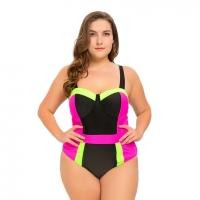 One Pieces Swimsuit Plus Size