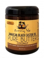 Jamaican Black Castor Oil Pure Butter with COCONUT Oil 8oz for Hair and Skin Care