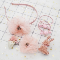 Set Hair Accessories 6 pieces In an elegant box